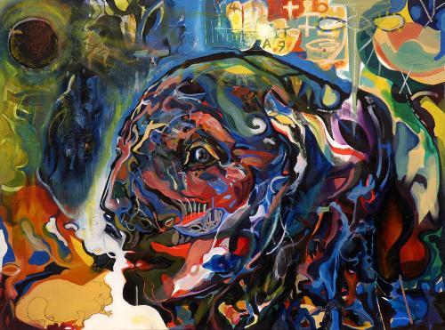 Chernobyl, oil on canvas, 60x80, 2003
