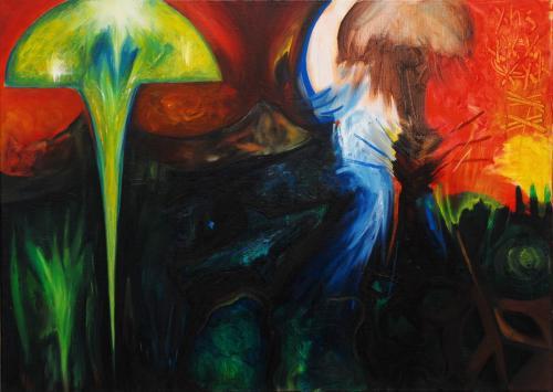 Bikini, oil on canvas, 50x70, 2003